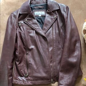 Andrew Marc New York Leather Jacket